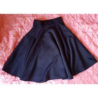 Vintage Skater Skirt_Navy Blue