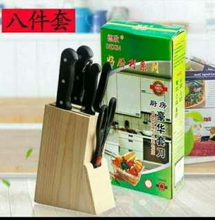 8 in 1 knife set