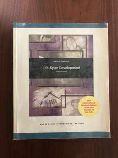 Life Span Development (for Developmental Psych) - 13th edition