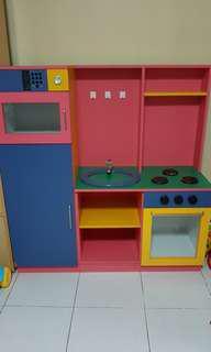 Complete Wooden Kitchen Set
