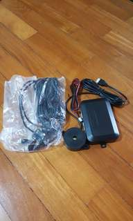 Car reverse sensor(colour-matte black)