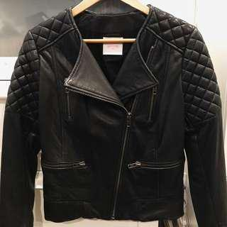 Gorman leather jacket