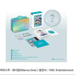 Wanna One Summer Package Loose Member Set