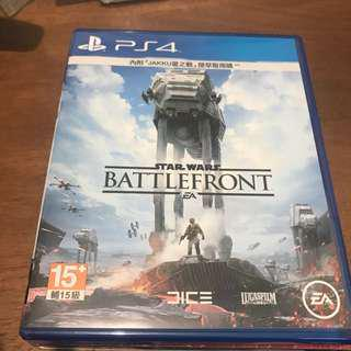 PS4 game star wars battlefront