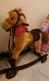 Wooden Rocking Horse in Great Condition