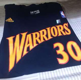 NBA curry tee Adidas XL 100%new