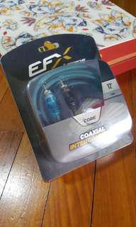 EFX 12ft rca cable