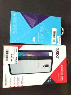Samsung note 4 screen protector and case