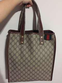 Reduced!! Like new Gucci document bag - preloved