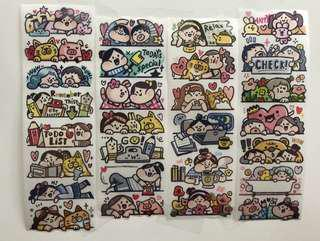 (Instock) *Exclusive* Life's Moods Washi Stickers
