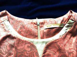 Minimal Gold Pink Top