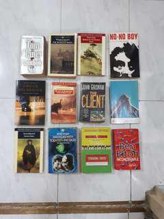 Various novels and collections