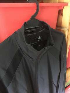 Adidas black windbreaker / Adidas black jacket
