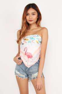 🚚 Flamingo Scarf