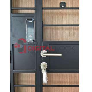 Card Digital Lock for HDB Metal Gate at $599 (3in1)