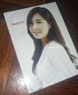 SNSD Star Card Season 2.5 Base Cards #4 - Seohyun