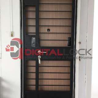 Card Digital Lock for HDB Door and Gate at $750