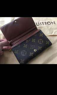 Authentic Louis Vuitton Wallet (price reduced from $330!)