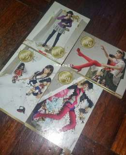 SNSD Star Card Season 1 Series 007 ( Hyoyeon/ Jessica/ Taeyeon/Tiffany)