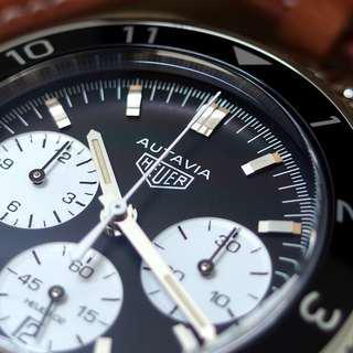 誠可議 豪雅 公司貨 保固 Heuer 02 Autavia MK III 2446 CBE2110 盒單 鍊帶 計時