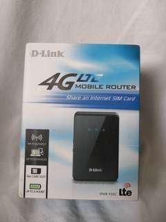 D-Link DWR-932C 4G LTE Mobile Router #mscgadget