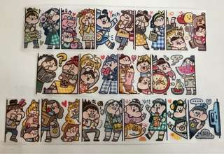 (Instock) *Exclusive* Peaking Out 2 Washi Stickers