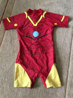 Iron Man Swimsuit for Boys