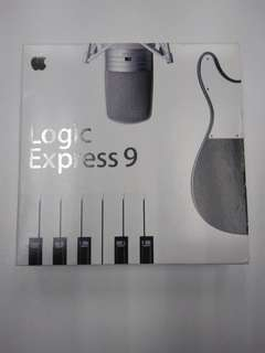 Logic express v 9.0 software