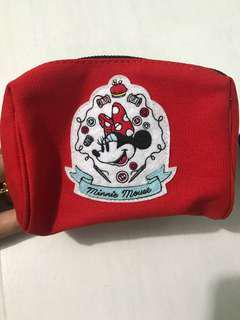 Minnie Mouse Red Pouch