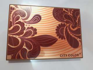 City Color 12 Eyeshadow & 3 Blushes Limited Edition Summer