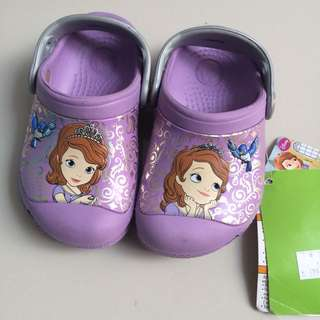 CROCS Princess Sofia The First size 5-6 sepatu sendal original disney murah #maucoach
