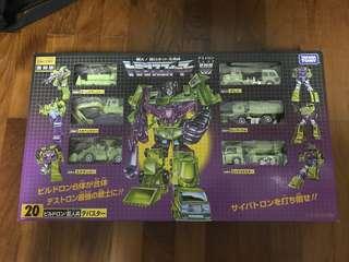 Transformers Encore 20 Devastator Combiner MISB