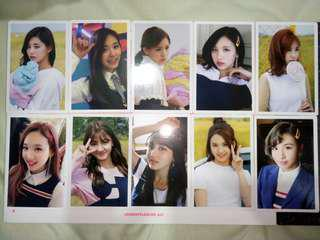 WTS TWICE Monograph Photocard