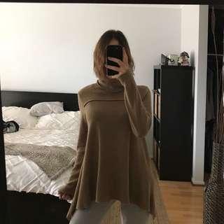 Beige knit sweater