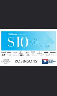 $100 Robinsons vouchers (Discounted)