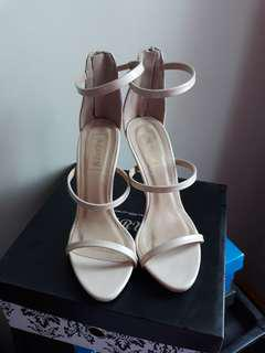 Strappy Nudes Heels by P are P