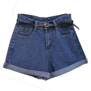 🚚 Dark Denim Shorts