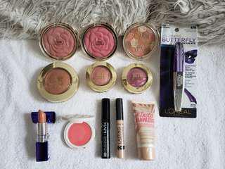 12 x Drugstore makeup bundle (Milani, NYX, Rimmel, L'Oreal)