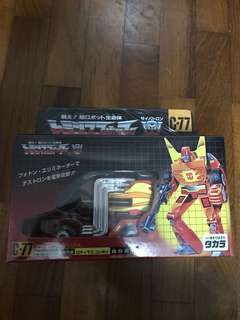 Transformers C-77 Rodimus Prime Hot Rod MISB
