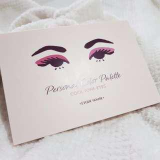 Etude House Personal Color Palette Cool Tone Eyes (LIMITED EDITION) + FREE GIFTS