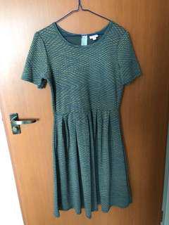 EUC Lularoe Amelia Dress size L