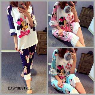 Minnie Mouse Sleepwear - Brand new