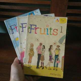 Komik Fruits 1-3 by Kim Euy Jung