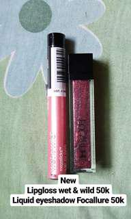 Lipgloss dan liquid eyeshadow