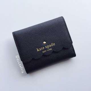 Kate Spade Morris Lane Jada Scalloped Mini Wallet