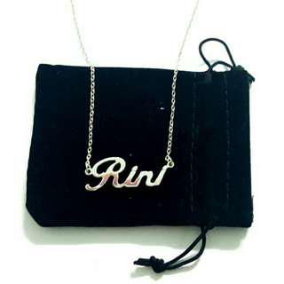 🚚 Customized Personalized name necklace