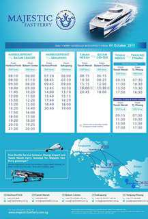 Batam Fast Ferry with Majestic E-Ticket