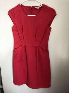 Loft Vermillion Dress