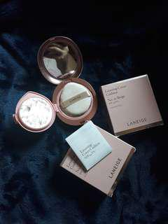 LANEIGE LAYERING COVER CUSHION SPF 34 PA ++ +Concealing Base SPF 50+ PA+++