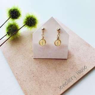 Handmade Citrine Earrings